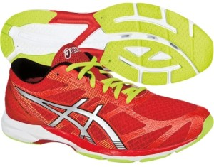 Asics Gel DS Racer 10 - Lateral e Solado