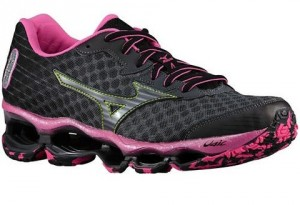 Mizuno Wave Prophecy 4 - Rosa - Lateral