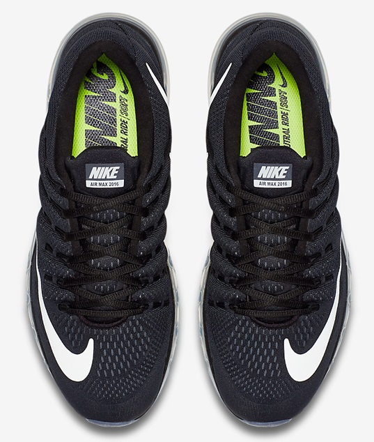 Nike Air Max 2016 - preto cabedal