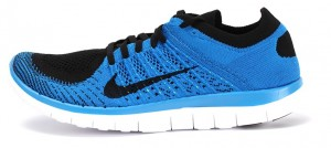 Nike Free 4.0 Flyknit - Azul