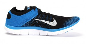 Nike Free 4.0 Flyknit - Azul - Review