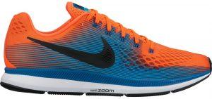 7a7de9ece23 O estável e notável Nike Air Zoom Pegasus 34 tem como principal  característica seu excelente custo benefício. Classificado como um tênis de  performance