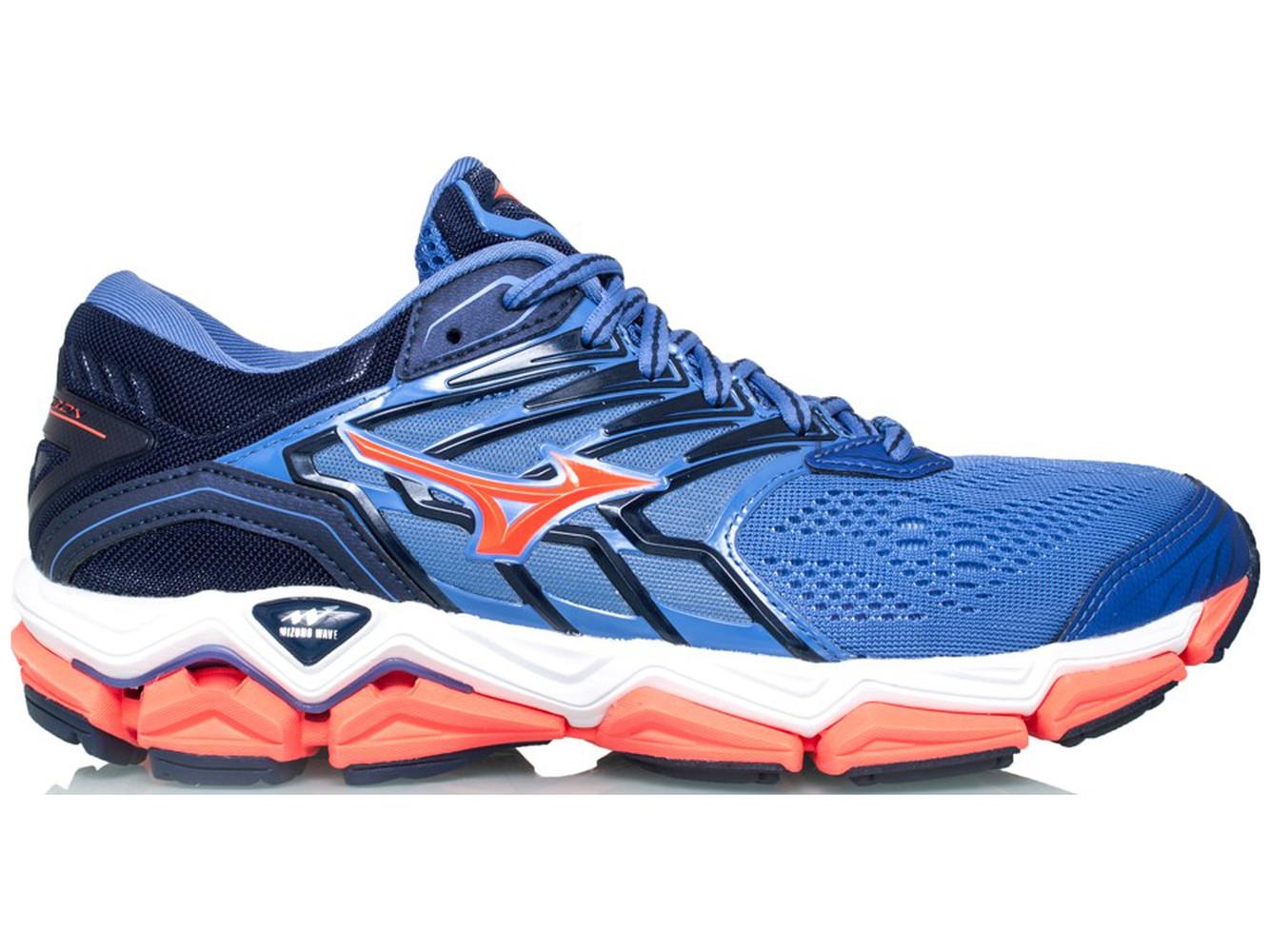 d5baf6de7da O Mizuno Wave Horizon 2 é um modelo para corredores com pisada pronada
